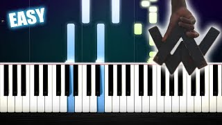 Alan Walker - Diamond Heart - EASY Piano Tutorial by PlutaX