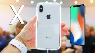 iPhone X + iPhone 8 Hands on!