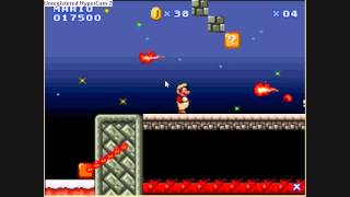 Super Mario Flash Level Editor - Blazing Snow