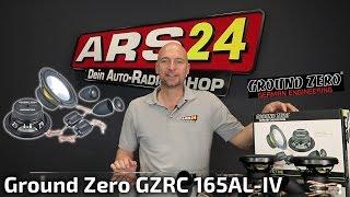 Lautsprecher fürs Auto mit höchster Brillianz   Ground Zero GZRC 165AL-IV   REVIEW   ARS24