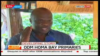 Allegations of importation of voters to the ODM primaries in Mbita