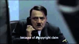 Hitler's videos have been deleted
