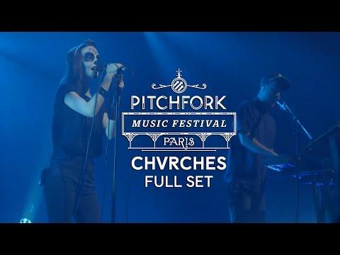Chvrches - concierto - Pitchfork Music Festival Paris 2014