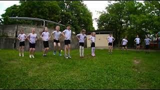 Зарядка в детском саду. video vr 360. виртуальная реальность.