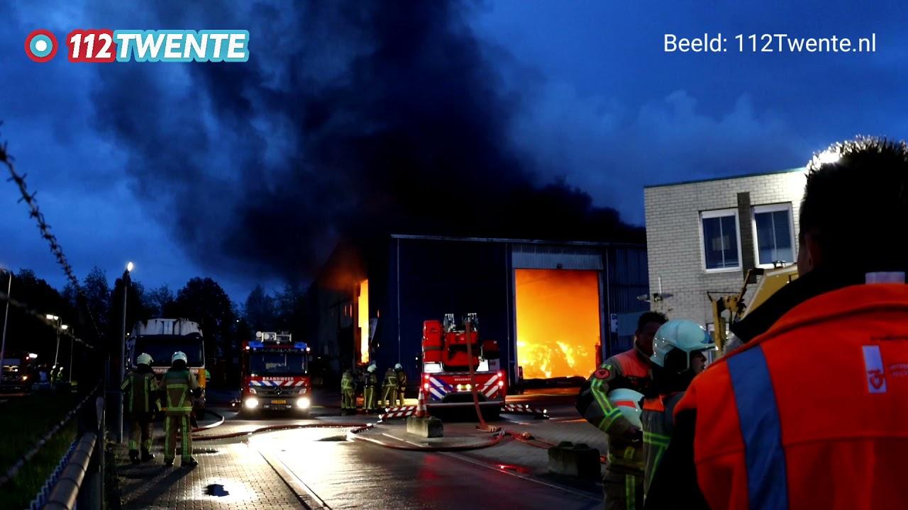 112Twente.nl – Zeer grote brand (GRIP 1) Hengelo 25-05-2021