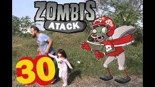 plants vs zombies (cap 30) escapando del corredor zombie