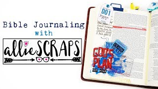 Allie Scraps Review | Simple Bible Journaling