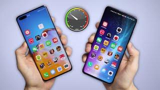 Huawei P40 Pro vs Xiaomi Mi 10 Pro 5G - SPEED TEST