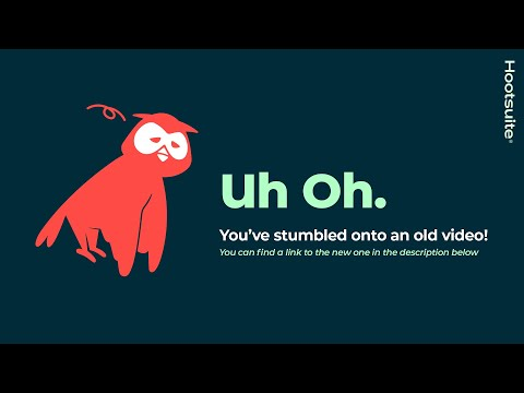 An Overview of the Hootsuite Dashboard - YouTube