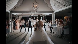 EPIC GROOMSMEN DANCE SUPRISE for the bride - Amazing Wedding 2017