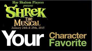 Your Favorite Shrek Character