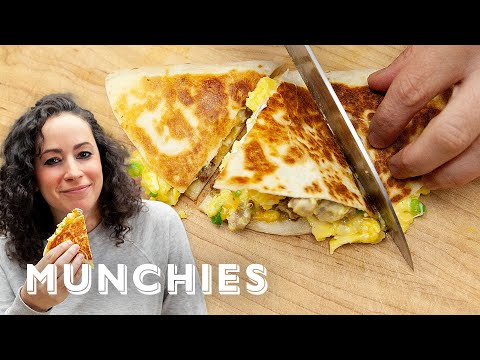 Breakfast Quesadillas - The Cooking Show with Farideh