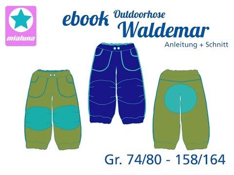Nähanleitung Outdoorhose Waldemar