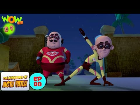 Download Super Duper Man - Motu Patlu in Hindi -  WITH ENGLISH SUBTITLES! HD Mp4 3GP Video and MP3