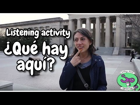 Spanish listening activity: En la ciudad || In the city (2/3)
