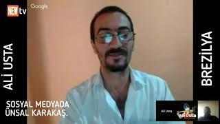 ÜNSAL Karakaş. SOSYAL MEDYADA. (Ali Usta brezilya youtube kanalı). 🆕TV. PRODÜKSİYON
