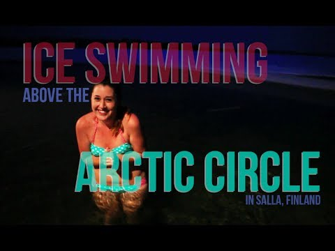 Ice Swimming above the Arctic Circle