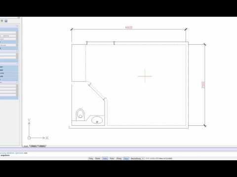 draftsight video tutorial fl che messen. Black Bedroom Furniture Sets. Home Design Ideas