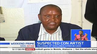 Suspected con artist who duped Kenyans millions of shillings arrested