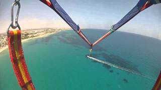 preview picture of video 'Vacance Hammamet Tunisie 2013 HD parachute'