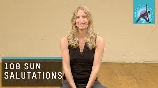 108 Sun Salutations introduction, Yoga with Esther Ekhart