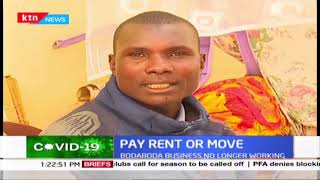 Pay rent or move: Family of bodaboda operator evicted over Ksh 500 rent