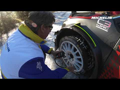 Esapekka Lappi's testing - 2019 WRC Rallye Monte-Carlo - Michelin Motorsport