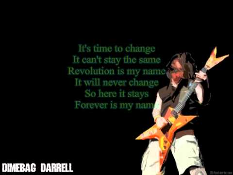 Domination lyrics pantera