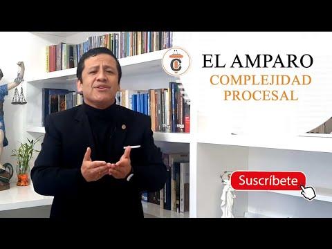 EL AMPARO: COMPLEJIDAD PROCESAL - TC171