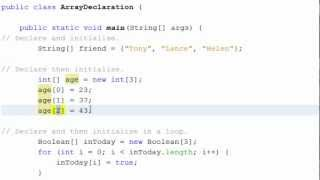 Download Youtube: Java - Using Arrays