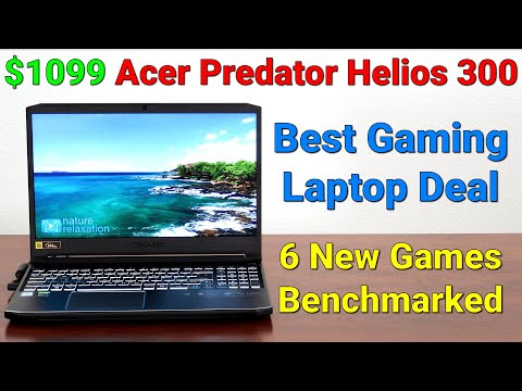 Best $1,000 Gaming Laptop — Fortnite + 5 More Games Tested — Acer Predator Helios 300