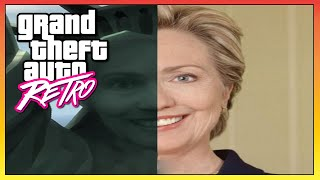 """GTA Retro: The """"STATUE of HAPPINESS"""" Modeled After Hillary Clinton! (GTA)"""
