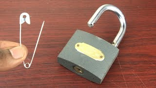 How to Open a Lock without key Easy - 4 Ways to Open a Lock - Amazing life hacks with Locks 🔴 NEW