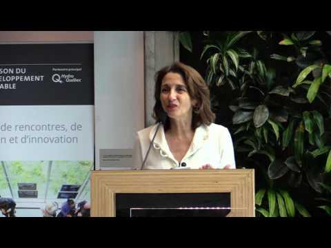 La Maison du développement durable dévoilait aujourd'hui sa programmation 2017, dans le cadre de l'annonce de son nouveau partenaire principal, Hydro-Québec, du vernissage de l'exposition Trace de vie de Denis Bordeleau, présentée en primeur à Montréal, et d'un grand réseautage pour entrepreneurs sociaux et acteurs du milieu des affaires et du développement durable.  La Maison du développement durable dévoilait aujourd'hui sa programmation 2017, dans le cadre de l'annonce de son nouveau partenaire principal, Hydro-Québec, du vernissage de l'exposition Trace de vie de Denis Bordeleau, présentée en primeur à Montréal, et d'un grand réseautage pour entrepreneurs sociaux et acteurs du milieu des affaires et du développement durable.  Pour bien remplir son rôle de pôle de rencontres, d'échanges et d'innovations sur le développement durable, la Maison présente, pour l'hiver et le printemps 2017, une programmation à la fois pertinente et diversifiée. Les activités prévues abordent des thèmes aussi variés que les travailleurs dans la transition énergétique, l'entrepreneuriat social comme levier de changement, les opportunités d'affaires créées par le gaspillage alimentaire, le micro-entrepreneuriat dans l'économie collaborative, les défis urbains pour limiter les débordements d'égouts, les élections municipales 2017 ou encore, la réalité des bidonvilles.  La Maison du développement durable tient à remercier Hydro-Québec, partenaire principal de sa programmation. Elle remercie aussi les collaborateurs de la programmation (ordre alphabétique), soit Amnistie internationale, le Bistro Marius, Bulle de Neige, Cataléthique, la CSN, le Collectif Communication Citoyenne, le Conseil régional de l'environnement de Montréal, COPTICOM, ENvironnement JEUnesse, Équiterre, l'Esplanade, ETHIK BGC, FEM international, Fondaction CSN, la Fondation David Suzuki, la Gaillarde, l'Institut des sciences de l'environnement de l'UQAM, le Journal Les Affaires, Montréal en Lumières, Nuit blanche de Mo