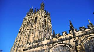 preview picture of video 'St Giles Church, Wrexham Bells Ringing'