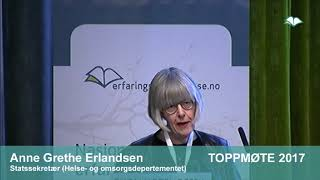 Toppmøte 2017 – Anne Grethe Erlandsen