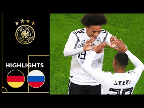 Sané Gnabry & Co. with a rousing performance | Germany vs Russia 3-0 | Highlights | Friendly
