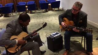 LONDON GUITAR SHOW - MARTIN TAYLOR AND CIYO BROWN