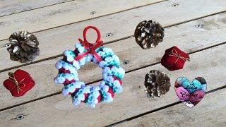 Deco Noel Crochet.Décoration De Noël Au Crochet самые лучшие видео