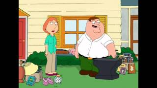 Family Guy | Peter with his anvil