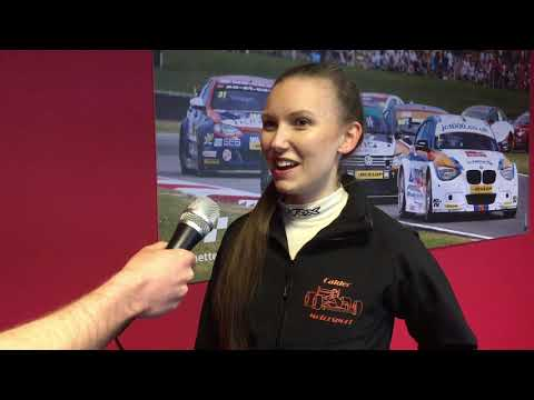 British Sprint Champion Heather Calder samples BRDC British F3 at Snetterton
