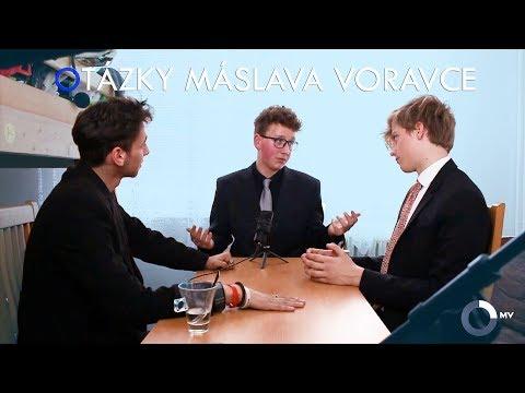 OTÁZKY MÁSLAVA VORAVCE (parodie)