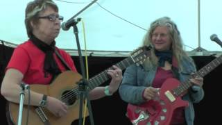 Jo Jo Smith And <b>Kristina Olsen</b>  Maldon Folk Festival 2016