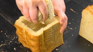 Простой и очень вкусный десерт из хлеба для жаркого дня. Пальчики оближешь!