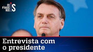 EXCLUSIVO: Bolsonaro esclarece polêmica sobre vacina chinesa