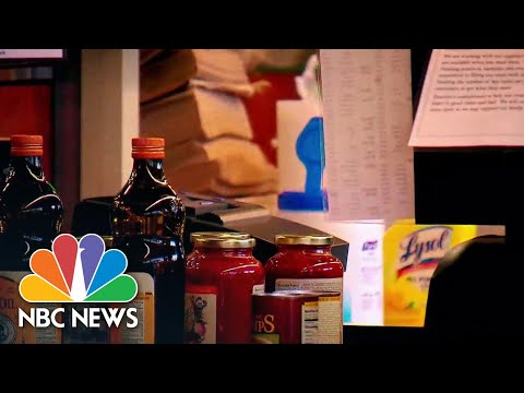 Stores Offer New Ways To Pick Up Groceries Amid Coronavirus Outbreak | NBC News NOW