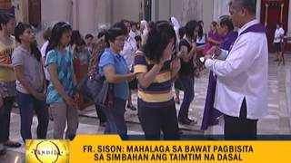 Focus on 'Bisita Iglesia' essence, church says