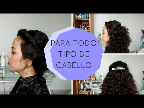¡3 Peinados Usando Peinetas! Super Fácil + Vídeo Detallado