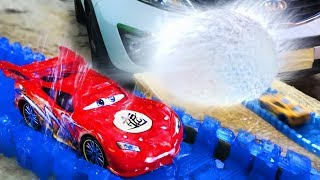 Cars 3 Lightning Mcqueen The Balloon - Race toys Cars Video Toy for Children