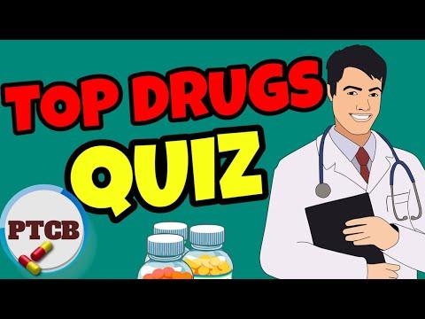 Prescription Drugs: PTCB 25 QUESTIONS QUIZ. PHARMACY ...